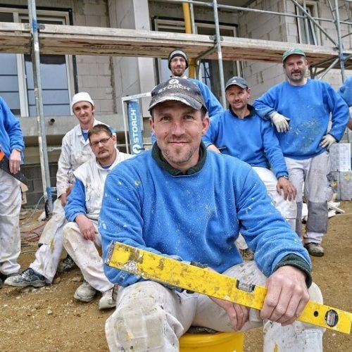 Schades Wohlfühlhotel Bauarbeiter
