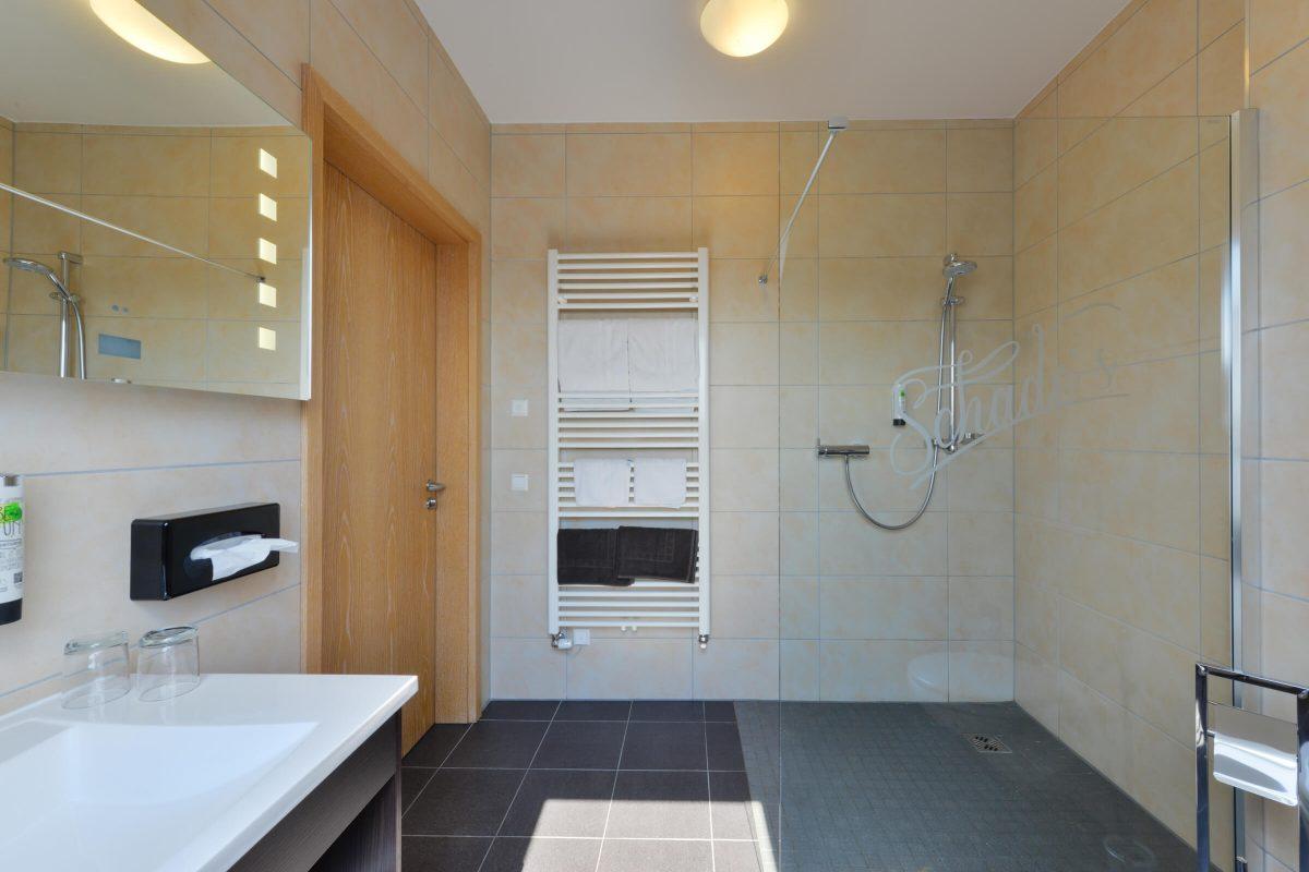 Schades Wohlfühlhotel Doppelzimmer Bad