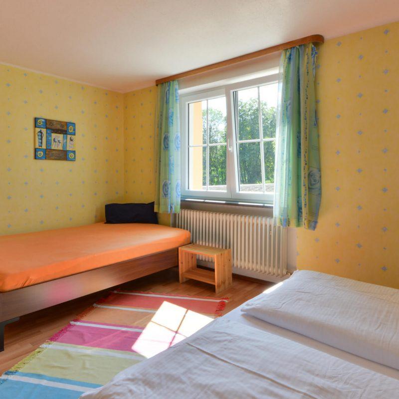Schades Wohlfühlhotel Ferienwohnung Schlafzimmer Obergeschoss