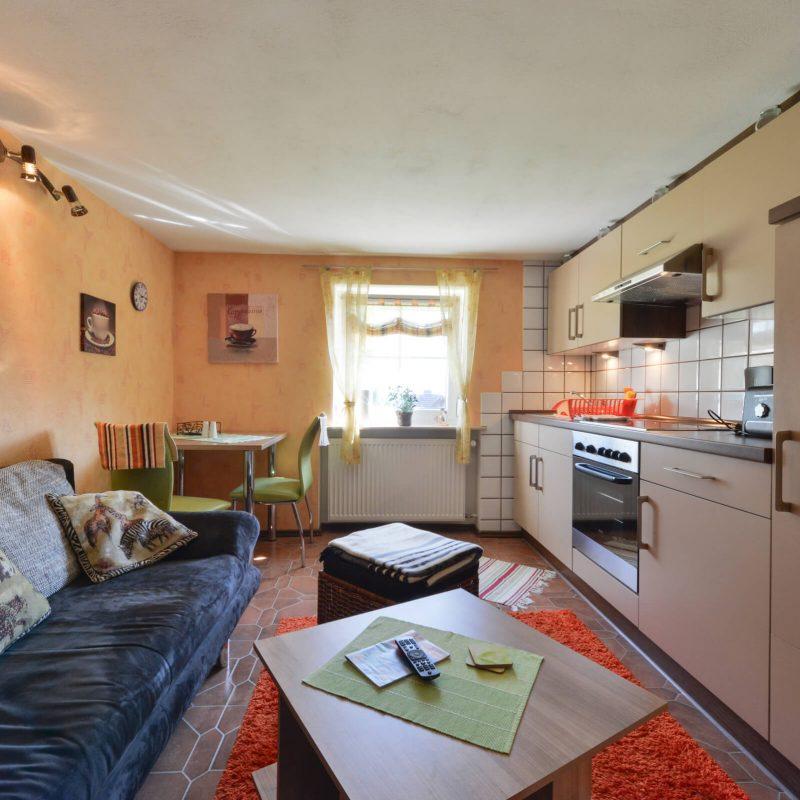 Schades Wohlfühlhotel Ferienwohnung Küche Erdgeschoss