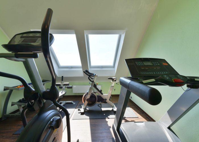 Schades Wohlfühlhotel Fitnessraum
