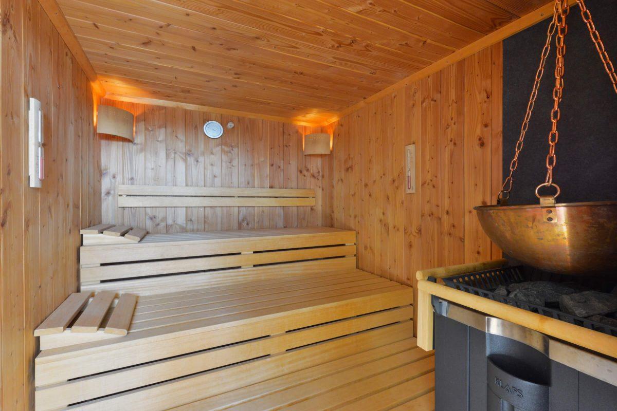 Schades Wohlfühlhotel Wellnessbereich Sauna